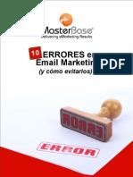 10 Errores en Email Marketing V2