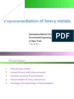 Phytoremediation for Heavy Metal