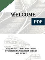 railway security monitoring system using vibration sensor and zigbee