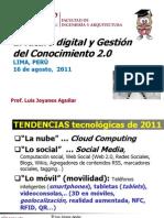 El Futuro Digital y GestionDelConocimiento