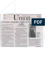 Former Student's Night at the Oscars - Union - March 2006