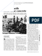 Working With Silica-fume Concrete