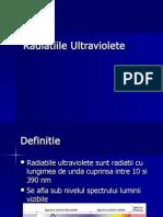 Radiatiile Ultraviolete