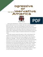 Progressive & Conservative