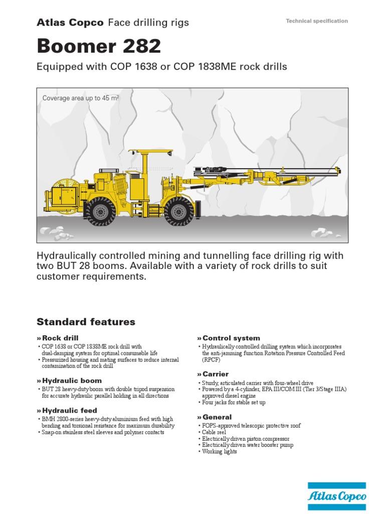boomer 282 pdf perforao transmission mechanics drill rh scribd com