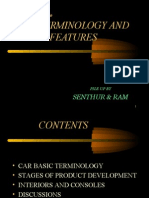 Car Basic Terminologies