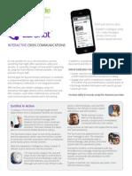 Revolutionary Mobile Crisis Communications - EarShot