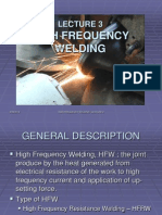 Lecture 3 High Frequency Welding