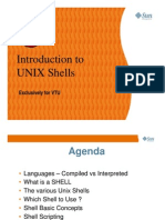 Unix Shells