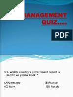 Mgmt Quiz