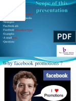 Facebook Promotions ppt