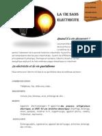 La Vie Sans Electricite