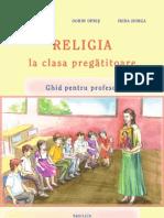 Religia La Clasa Pregatitoare - Ghid Pentru Profesori