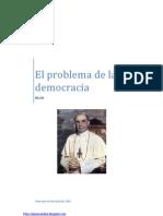 El problema de la democracia