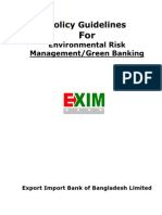 Green Banking Policy