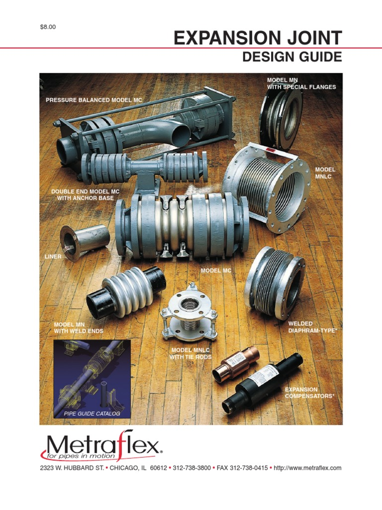 Metraflex Expansion Joints | Gas Technologies | Applied And