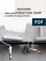 Social housing reconstruction camp