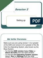 AbInitio Beginner's Course - Topic 2