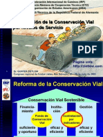 Contratacion de Conservacion Vial Por Niveles de Servicio