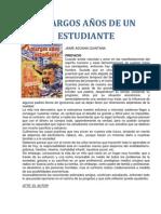AMARGOS AÑOS DE UN ESTUDIANTE