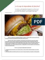 Şapte metode ca să scapi de dependenţa de fast-food