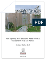 E-Waste Export Briefing Book