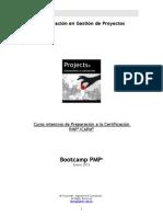Programa Bootcamp Pmp