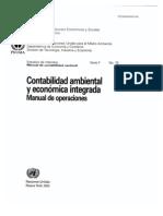 Contabilidad Ambiental y Economica Integrada_Manual de Operaciones ONU_PNUMA