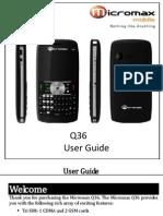 Q36 User Guide MMX1