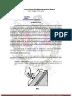 Aplicación de la Proyección Estereográfica en Minería