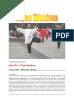 """Studijsko putovanje """"Kina 2013.-Tajne Wushua"""""""