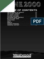 Dune 2000 - manual