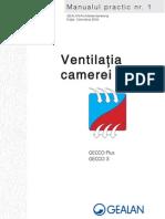 Manual 1 - Ventilatia Camerei - tamplarie PVC