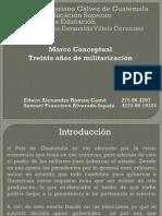 Clase 6 Marco conceptual-30años de militarización