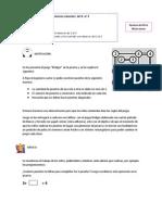 SESIÓN DE APRENDIZAJE CON EL JUEGO BRIDGES