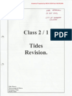 Tide Revision-MCA OOW Unlimited Course Notes-Nuri KAYACAN