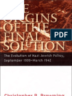 25911131 the Origins of the Final Solution the Evolution of Nazi Jewish Policy September 1939 March 1942