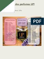 Lista Dos Perfumes UP