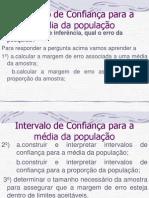 Aula10 Intervalo de Confianca Media