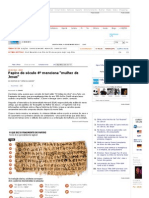 Papiro de Jesus - Mulher