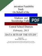 Madison-stockbridge Valley Study Data Sets 2013