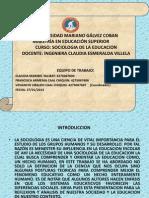 TAREA 1 PRESENTACION SOCIOLOGIA