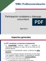 08 Participación ciudadana y liderazgo social.ppt