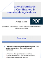 10 Schreck Standards and Certification