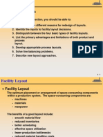 Facility Layout - Lecture Notes