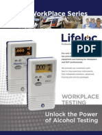 Workplace Breath Alcohol Testing Brochure