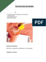 Receita de Suco de Goiaba - Felipe Da Silva Santos