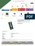 Memori 4 GB DDR3 2xda