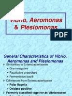 Vibrio & Aeromonas & Plesiomonas