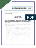 Constitucion de Ecuador 2008